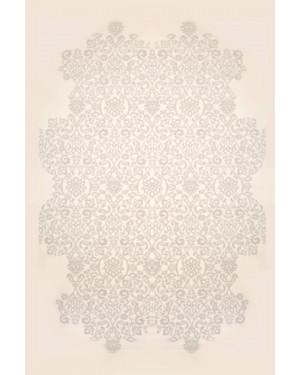 Plyysimatto VISION 32209/36 Valkoinen-Harmaa